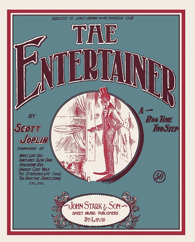the entertainer cover
