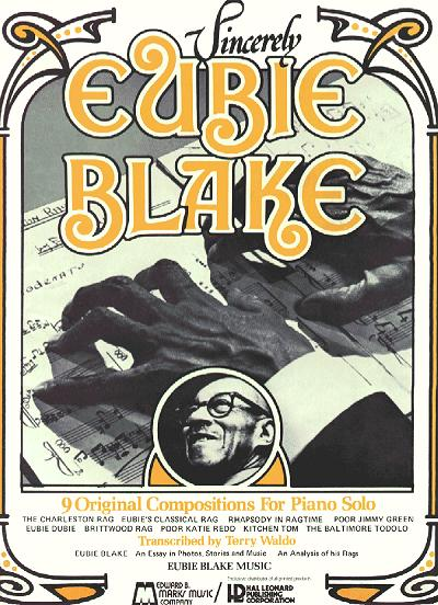 sincerely eubie blake cover