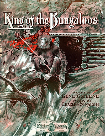 king of the bungaloos cover