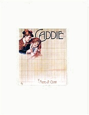 caddie sheet music cover