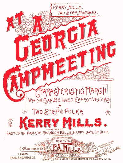 original at a georgia campmeeting cover