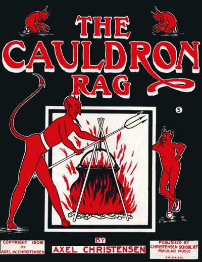 cauldron rag cover