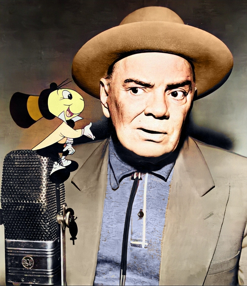 cliff edwards with jiminy cricket