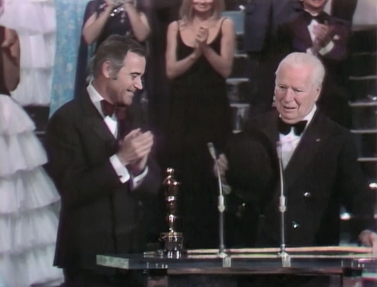 chaplin with oscar and jack lemmon