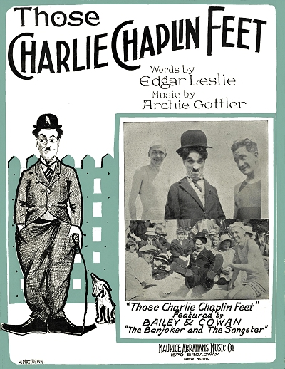 those charlie chaplin feet cover