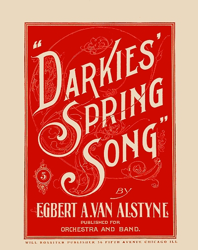 darkies' spring song cover