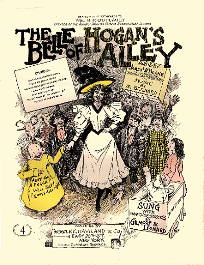 the belle of hogan's alley cover