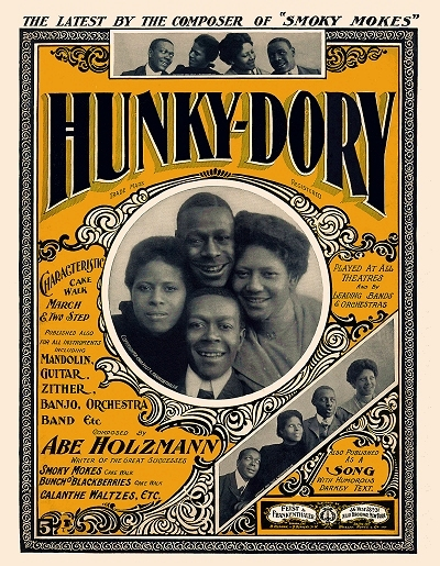 hunky dory cover
