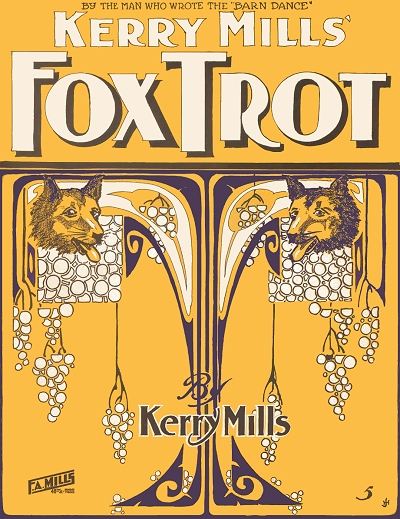 kerry mills fox trot cover