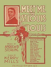 meet me in st. louis, louis cover