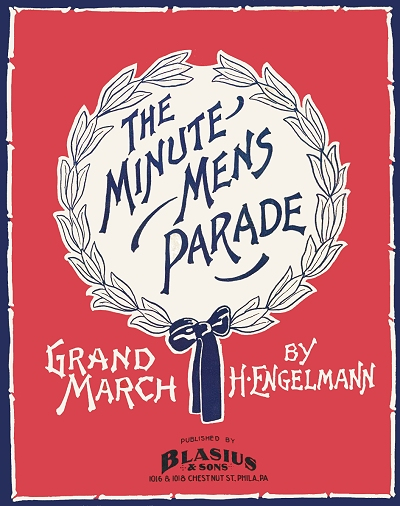 minute men's parade cover