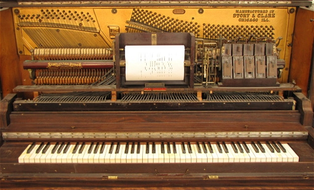 player piano essay Kurt vonnegut's player piano is an insightful satire concerning the direction of american industry in the 1950s taking place in the future, the novel portrays a world where efficient.