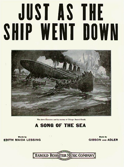 just as the ship went down cover