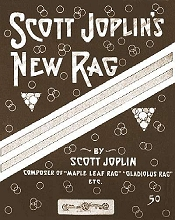 scott joplin's new rag cover